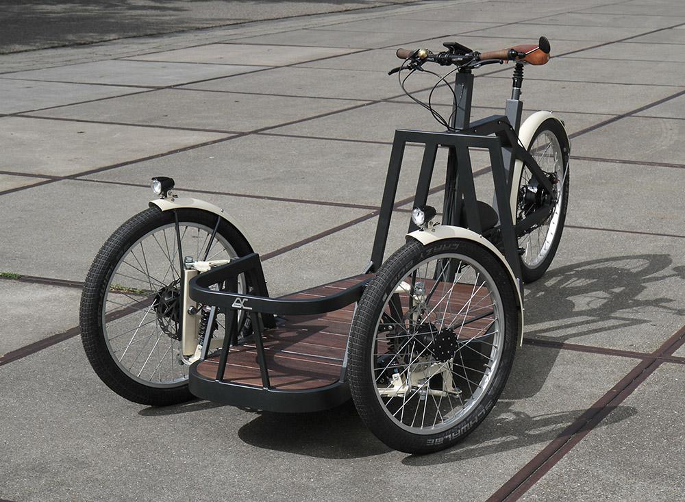 rolstoeltransportfiets